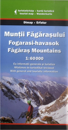 Făgăraș Mountains (Dimap - 1:60.000)